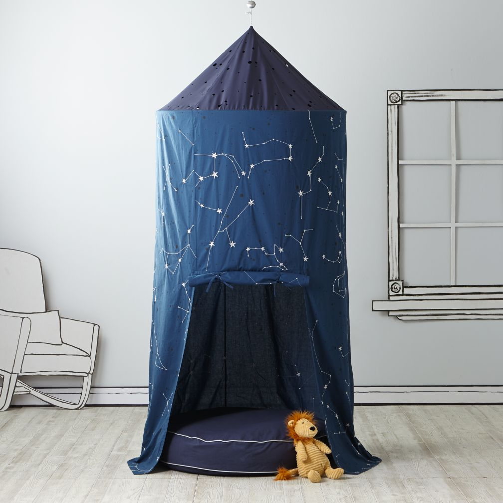 Planetarium Playhouse Canopy & Cushion Set