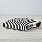 Black and White Knit Teepee Cushion