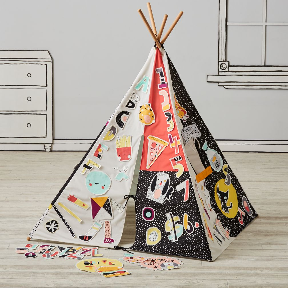 Decorate a Teepee and Patch Set