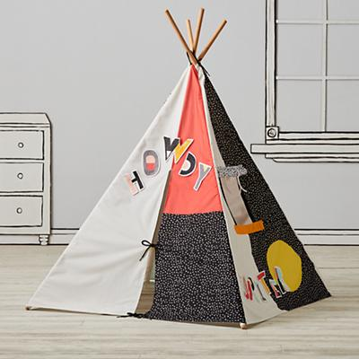 Decorate-a-Teepee and Patch Set (Letter and Number Patches)