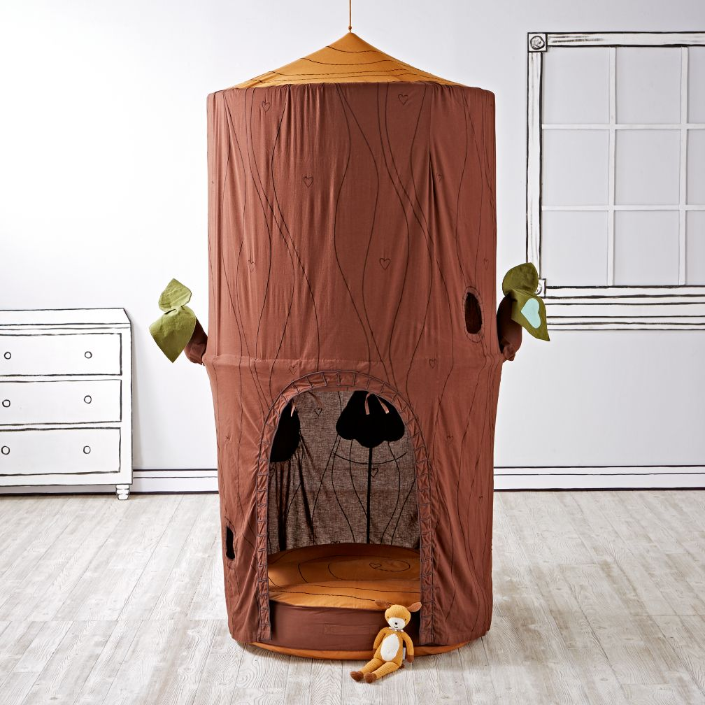 Woodsy Playhouse Canopy & Cushion Set.