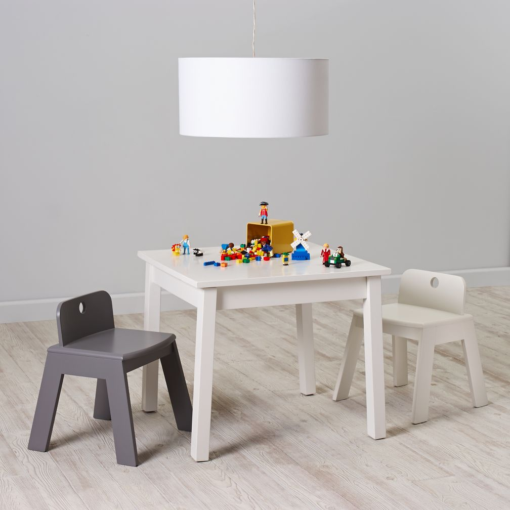 Anywhere Square White Play Table