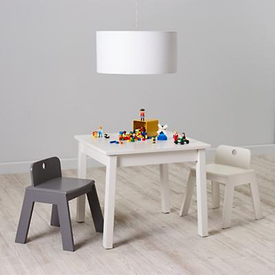 Anywhere Square Play Table (White)