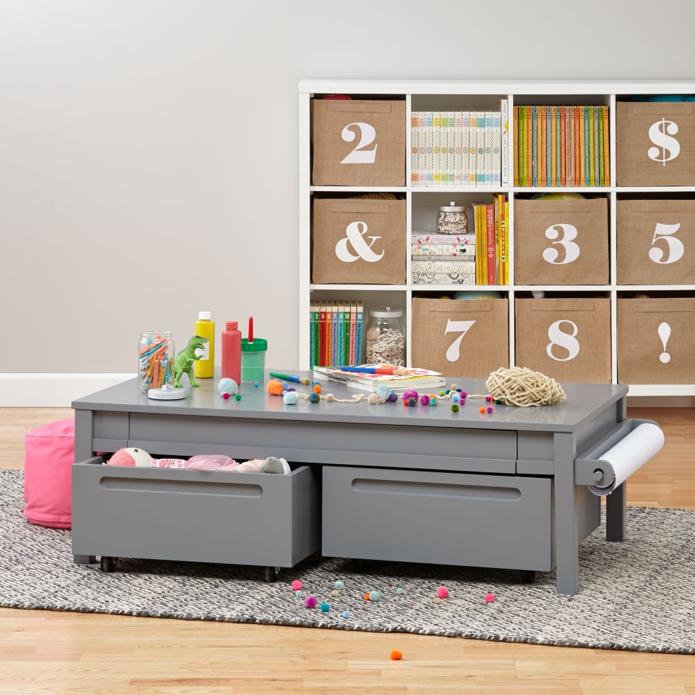 Small Adjustable Activity Table (Grey)