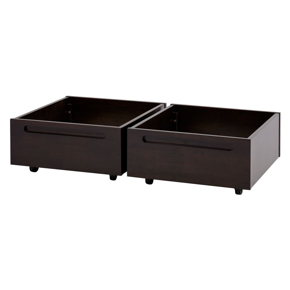 Set of 2 Adjustable Activity Table Bins