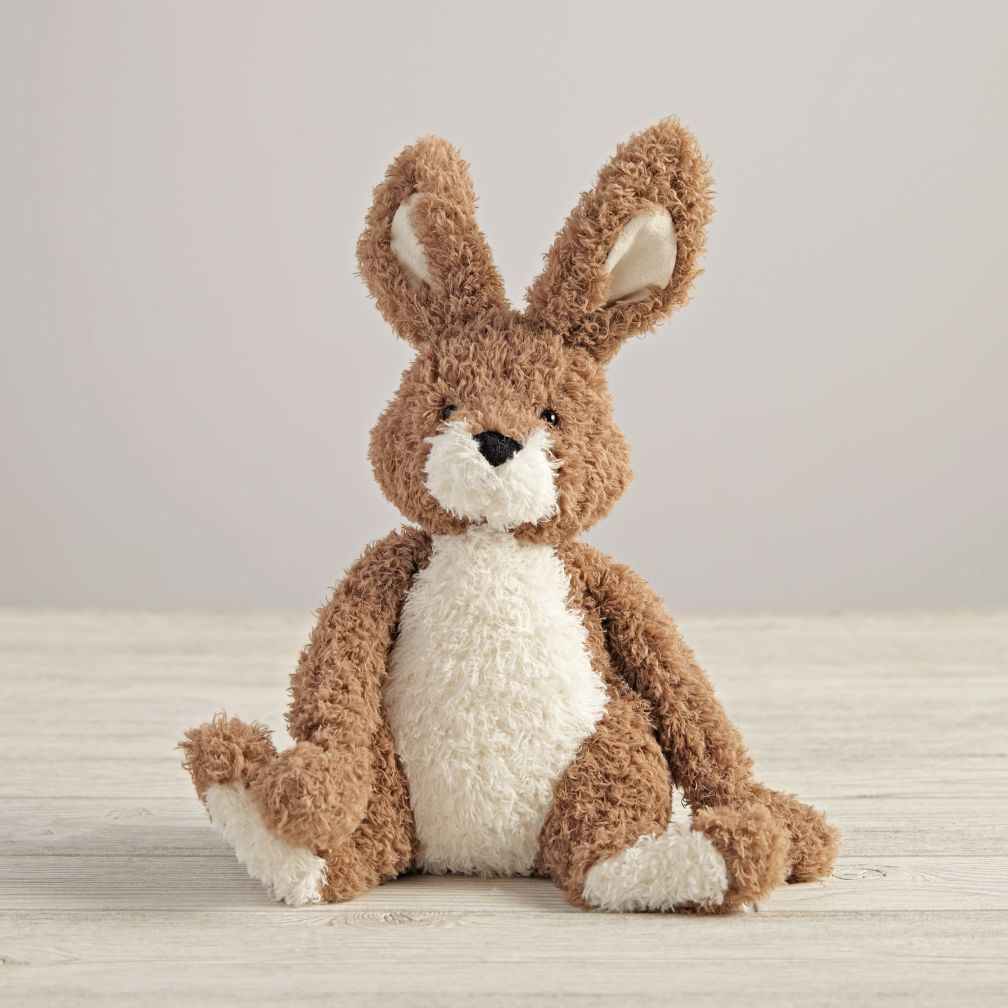 Plush Bunny (Brown)