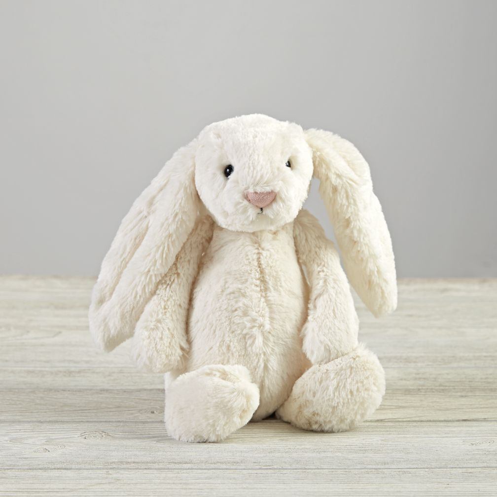 White Bunny Stuffed Animal The Land Of Nod