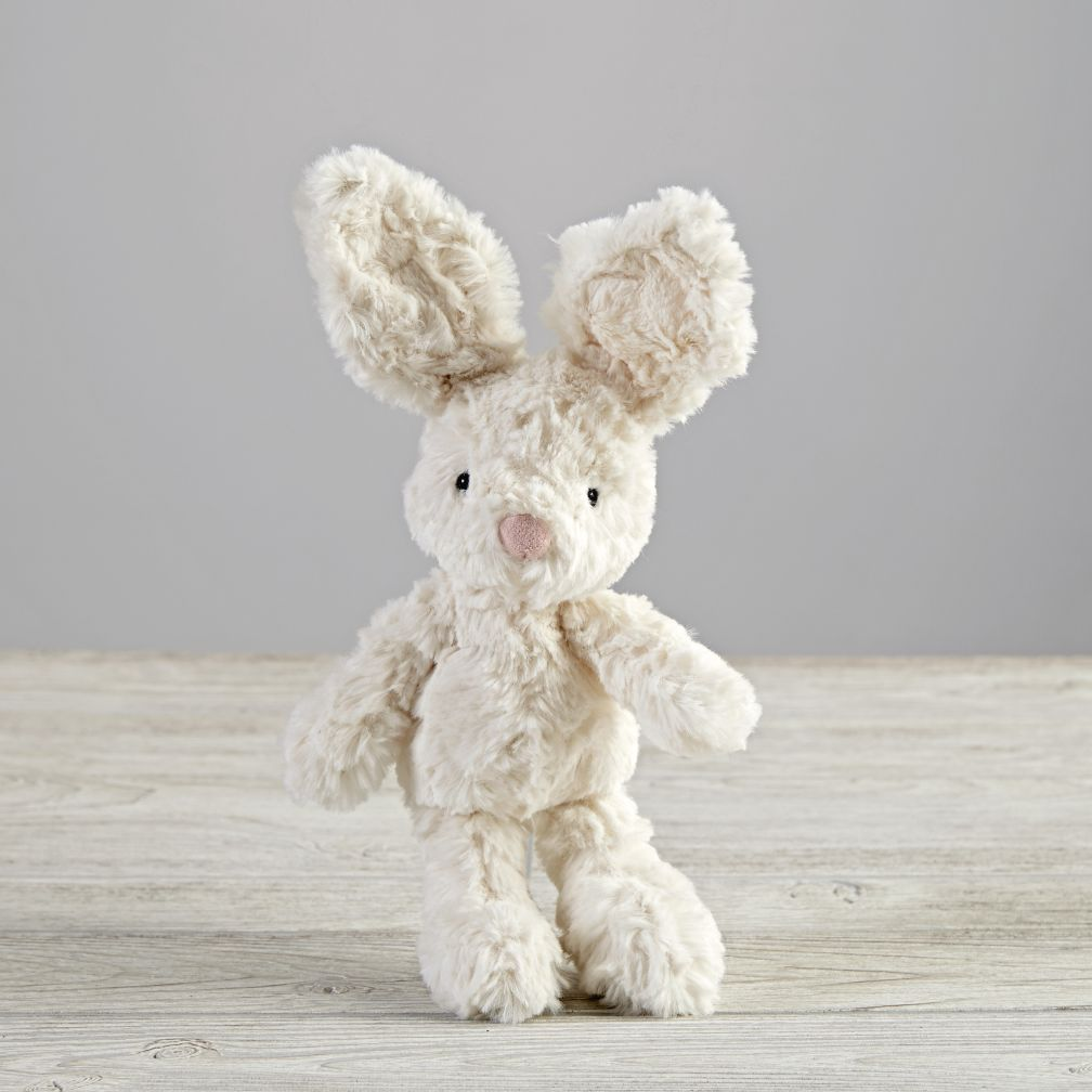 Small White Plush Bunny
