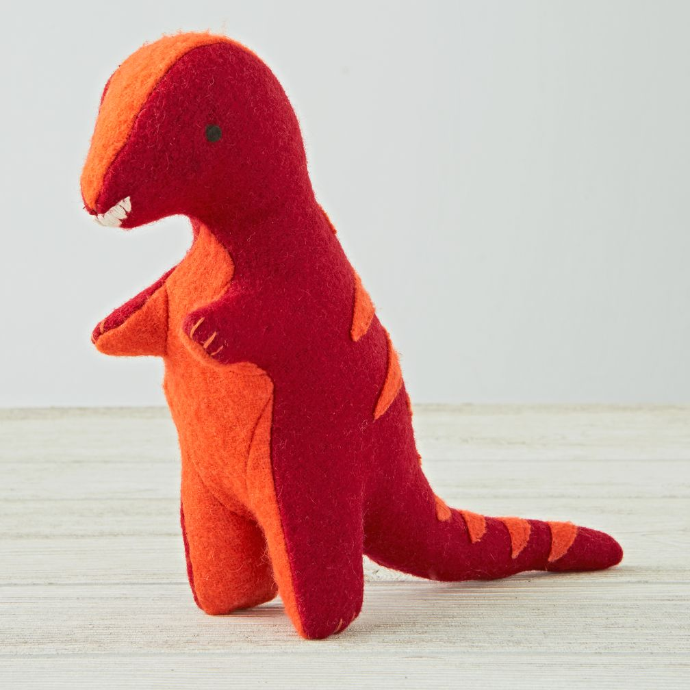 Red Stuffed Animal T Rex The Land Of Nod