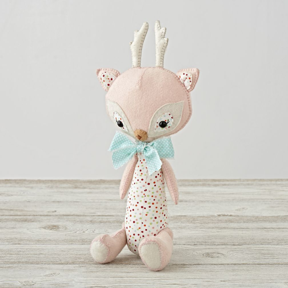 Forest Flair Deer Stuffed Animal