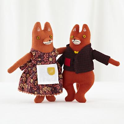 Mr and Mrs Fox Set of 2