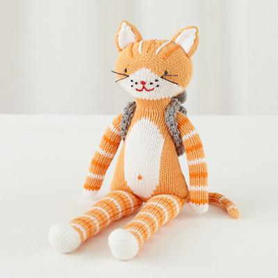 """The 14"""" Knit Crowd Cat"""