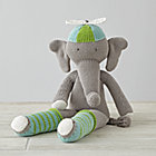 "14"" Knit Crowd Elephant"