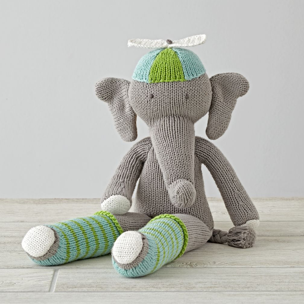 The Knit Crowd Elephant
