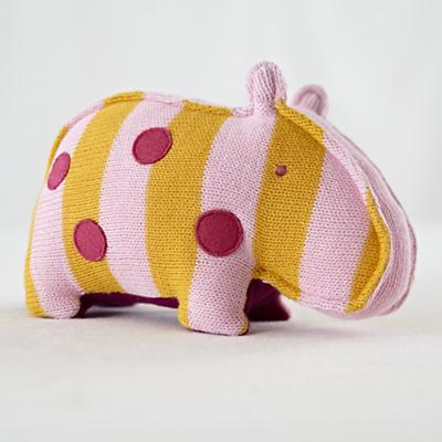 The Knit Menagerie Hippo