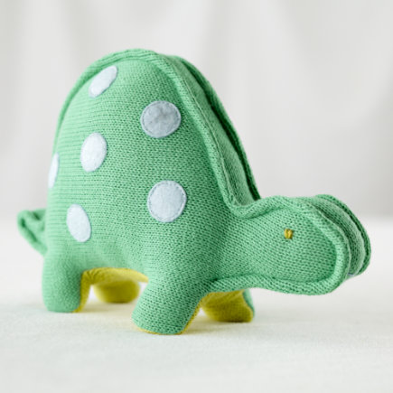 Stuffed Animals: Knit Turtle Menagerie - The Knit Menagerie Turtle