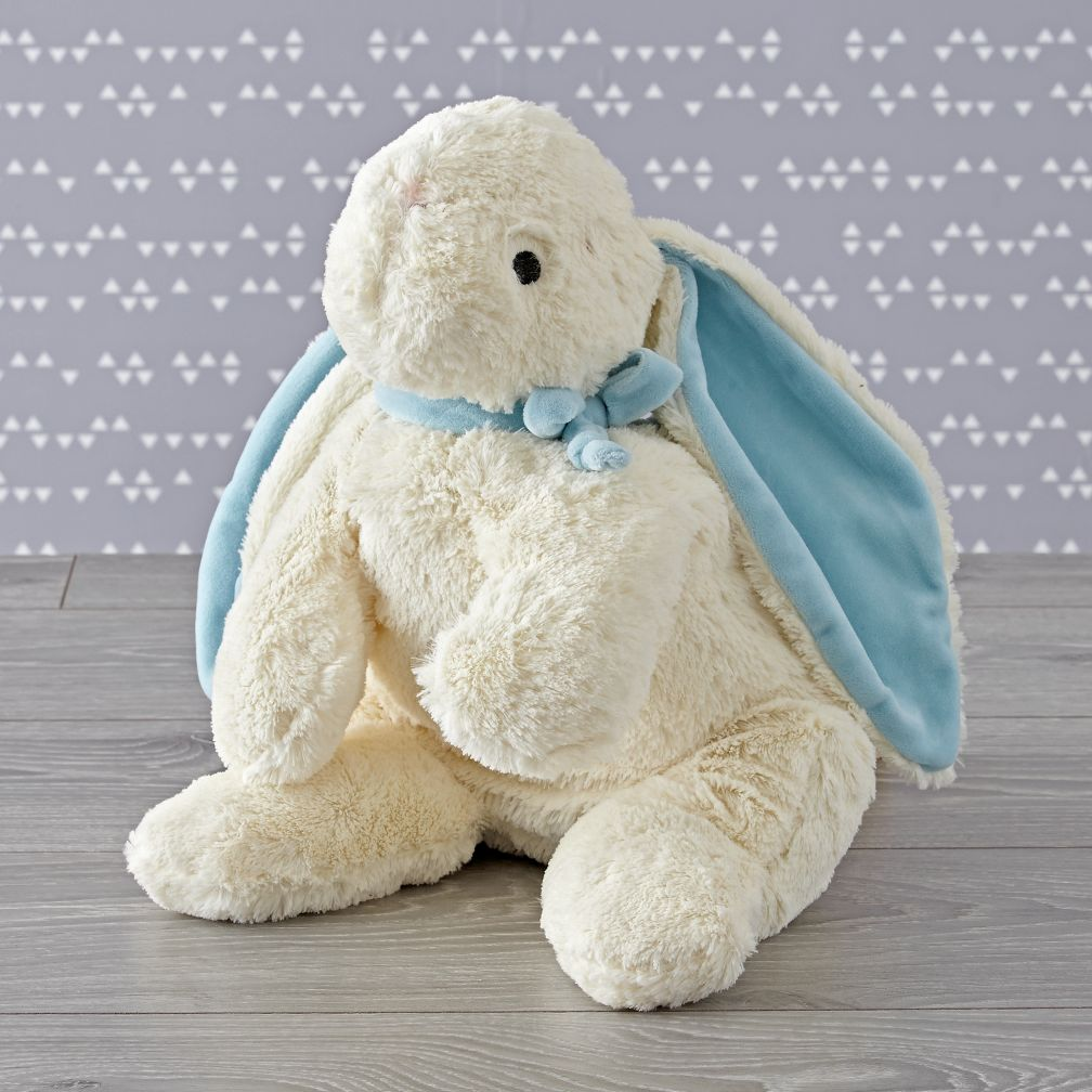 Large Blue Bunny Stuffed Animal