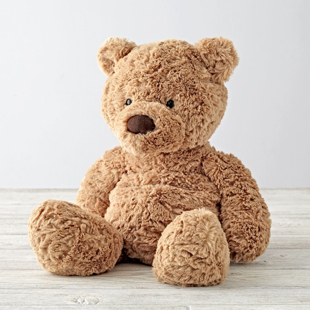 Jellycat Medium Brown Bear Stuffed Animal | The Land of Nod