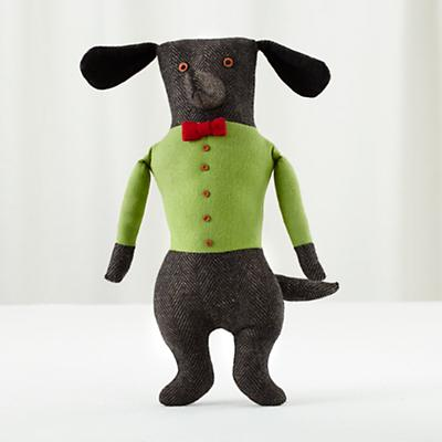 Grey Professor Plush Pooch