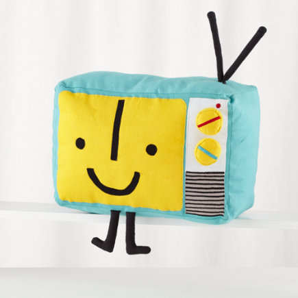 Plush Retro TV Toy - TV Yestergear Plush