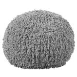 Shaggy Pouf (Grey)