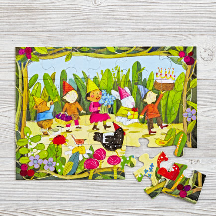 Birthday Parade 20-Piece Puzzle - 20 Piece Birthday Parade Puzzle