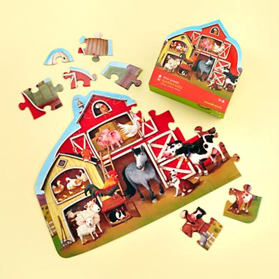 Farm Shape Puzzle