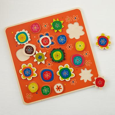 Piece and Love Flower Puzzle