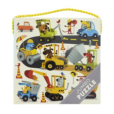 25 Piece Jumbo Construction Puzzle