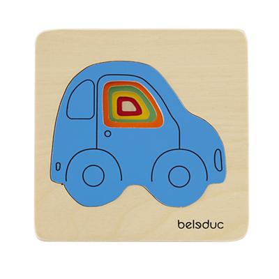Layer by Layer Puzzle (Cars)