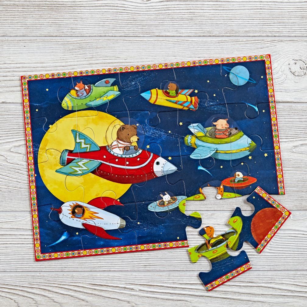 Up And Away 20 Piece Puzzle The Land Of Nod