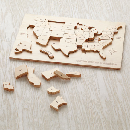 USA Puzzle - My Puzzle Tis of Thee Puzzle