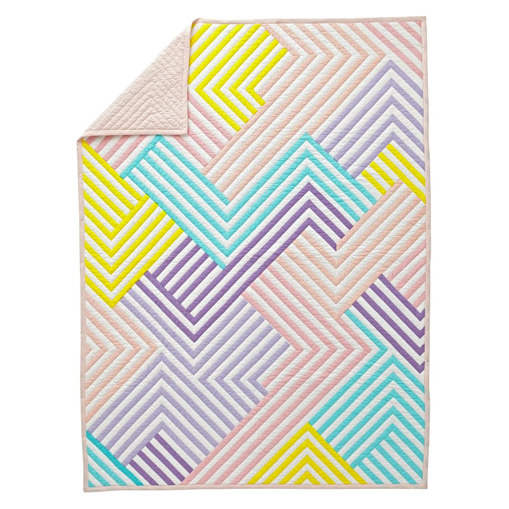 Ahmaze Pastel Full-Queen Quilt