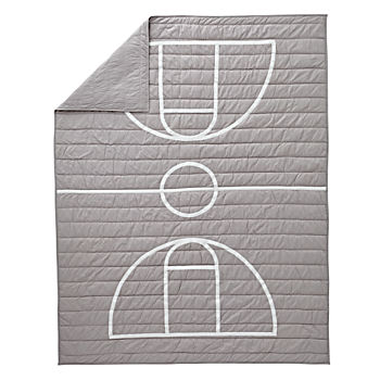 Nod Basketball Twin Quilt
