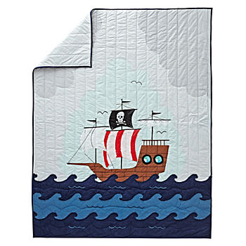 Pirate Twin Quilt