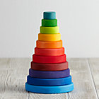 Large Rainbow Tower Stacking Toy