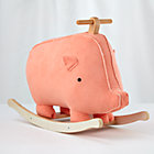 This Little Piggy Wood Rocker