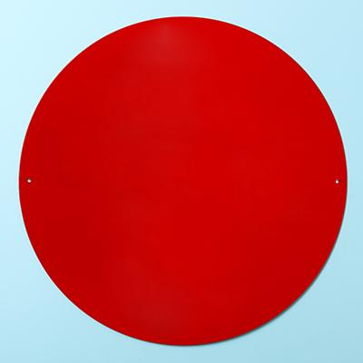 "Perfect Circle 16"" Magnet Board (Red)"