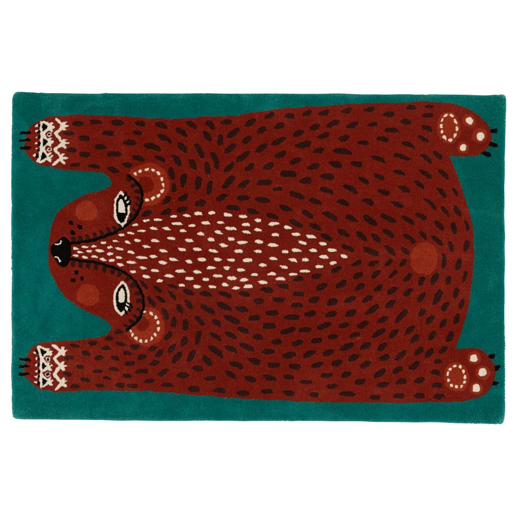 5 x 8' Don't Feed the Rug (Bear)
