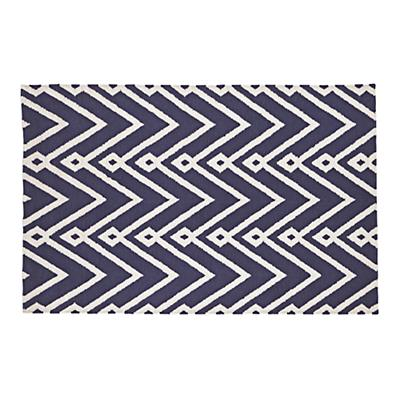 8 x 10' Chevron Twist Rug (Navy)