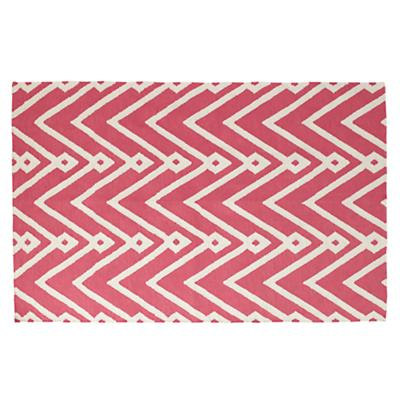 4 x 6' Chevron Twist Rug (Pink)