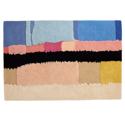 4 x 6 Color Fields Rug