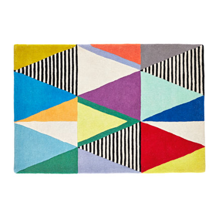 4 x 6 Color Theory Rug