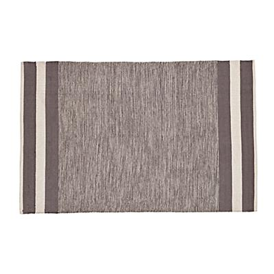 5 x 8' Defined Lines Rug (Grey)
