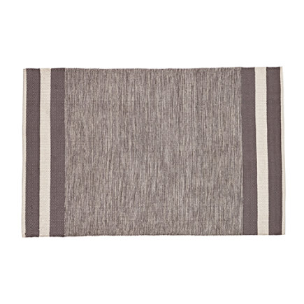 4 x 6 Grey Defined Lines Rug