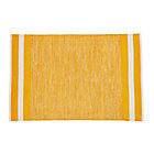 4 x 6' Yellow Defined Lines Rug