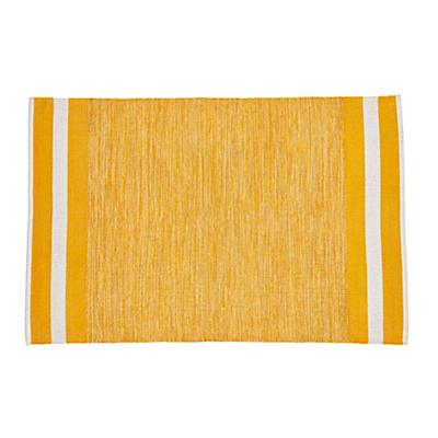 Defined Lines Rug (Yellow)