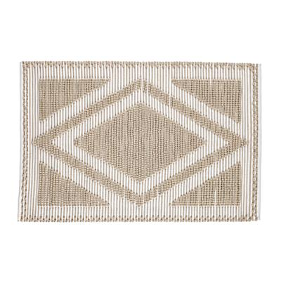 5 x 8' Diamond in the Rug (Khaki)