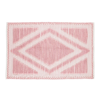 4 x 6 Pink Diamond in the Rug