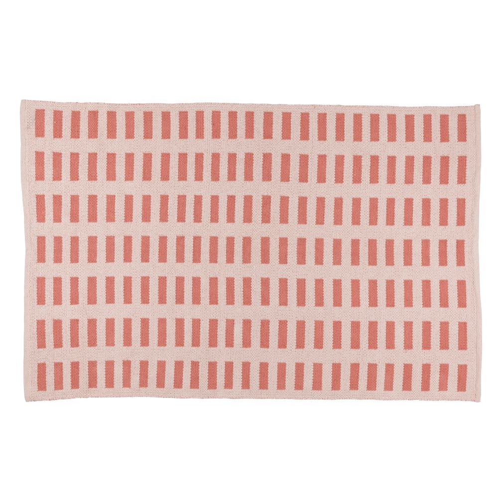 Domino Rug (Pink)